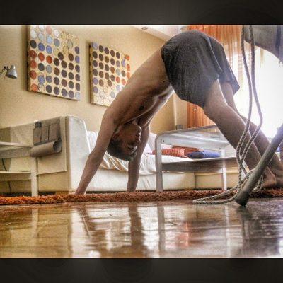 me doing yoga for pectus excavatum