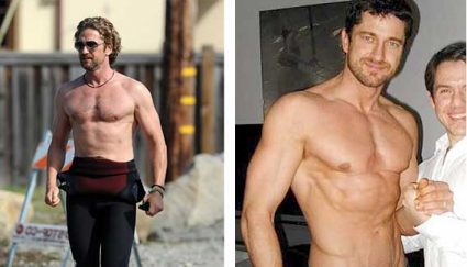 gerard butler sunken chest