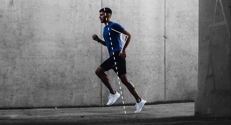 running form for pectus excavatum joggers