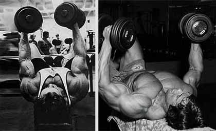 dumbbell fly great funnel chest movement