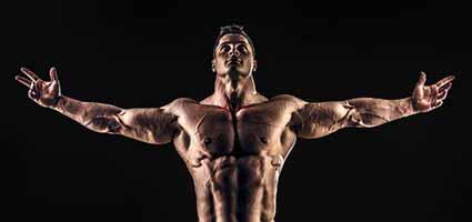 bodybuilding improves chest appearance for pectus excavatum