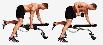 great back exercise for correcting sunken chest