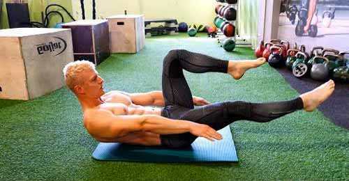 pilates core exercises