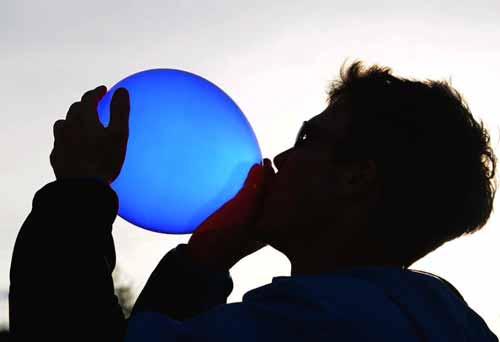 inhaling balloon for sunken chest deformity